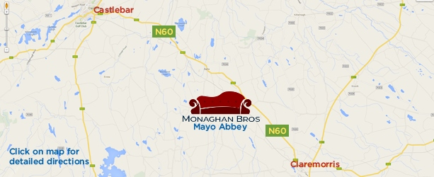 Monaghan Bros. location map